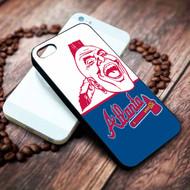 Atlanta Braves  3 on your case iphone 4 4s 5 5s 5c 6 6plus 7 case / cases