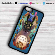 Disney Stitch Toothless Totoro Studio Ghibli on your case iphone 4 4s 5 5s 5c 6 6plus 7 Samsung Galaxy s3 s4 s5 s6 s7 HTC Case