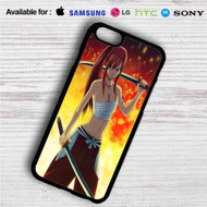 Fairy Tail Erza Scarlet on your case iphone 4 4s 5 5s 5c 6 6plus 7 Samsung Galaxy s3 s4 s5 s6 s7 HTC Case