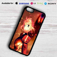 Fate Zero Stay Night Saber With Armors on your case iphone 4 4s 5 5s 5c 6 6plus 7 Samsung Galaxy s3 s4 s5 s6 s7 HTC Case