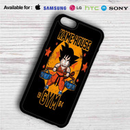 Goku Kame House Gym on your case iphone 4 4s 5 5s 5c 6 6plus 7 Samsung Galaxy s3 s4 s5 s6 s7 HTC Case