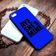 Aye He's Mine & Aye She's Mine  1 on your case iphone 4 4s 5 5s 5c 6 6plus 7 case / cases