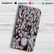Disney 101 Dalmatians Custom Leather Wallet iPhone 4/4S 5S/C 6/6S Plus 7  Samsung Galaxy S4 S5 S6 S7 Note 3 4 5  LG G2 G3 G4  Motorola Moto X X2 Nexus 6  Sony Z3 Z4 Mini  HTC ONE X M7 M8 M9 Case