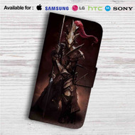 Dragon Slayer Ornstein Custom Leather Wallet iPhone 4/4S 5S/C 6/6S Plus 7| Samsung Galaxy S4 S5 S6 S7 Note 3 4 5| LG G2 G3 G4| Motorola Moto X X2 Nexus 6| Sony Z3 Z4 Mini| HTC ONE X M7 M8 M9 Case