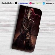 Dragon Slayer Ornstein Custom Leather Wallet iPhone 4/4S 5S/C 6/6S Plus 7| Samsung Galaxy S4 S5 S6 S7 Note 3 4 5| LG G2 G3 G4| Motorola Moto X X2 Nexus 6| Sony Z3 Z4 Mini| HTC ONE X M7 M8 M9 Case