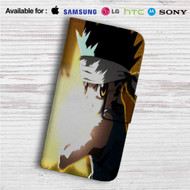 Hunter X Hunter Gon Freecss Custom Leather Wallet iPhone 4/4S 5S/C 6/6S Plus 7| Samsung Galaxy S4 S5 S6 S7 Note 3 4 5| LG G2 G3 G4| Motorola Moto X X2 Nexus 6| Sony Z3 Z4 Mini| HTC ONE X M7 M8 M9 Case
