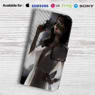 Sin City A Dame to Kill For Custom Leather Wallet iPhone 4/4S 5S/C 6/6S Plus 7| Samsung Galaxy S4 S5 S6 S7 Note 3 4 5| LG G2 G3 G4| Motorola Moto X X2 Nexus 6| Sony Z3 Z4 Mini| HTC ONE X M7 M8 M9 Case