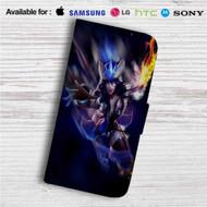 Sivir League of Legends Custom Leather Wallet iPhone 4/4S 5S/C 6/6S Plus 7| Samsung Galaxy S4 S5 S6 S7 Note 3 4 5| LG G2 G3 G4| Motorola Moto X X2 Nexus 6| Sony Z3 Z4 Mini| HTC ONE X M7 M8 M9 Case