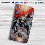 Thor Mjolnir Comic Custom Leather Wallet iPhone 4/4S 5S/C 6/6S Plus 7| Samsung Galaxy S4 S5 S6 S7 Note 3 4 5| LG G2 G3 G4| Motorola Moto X X2 Nexus 6| Sony Z3 Z4 Mini| HTC ONE X M7 M8 M9 Case