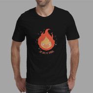 Calcifer Studio Ghibli Custom Men Woman T Shirt