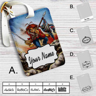 Helix The Trooper Iron Maiden Custom Leather Luggage Tag