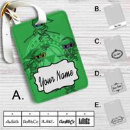 Link Ninja Turtles The Legend of Zelda Custom Leather Luggage Tag
