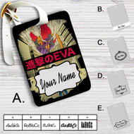 Neon Genesis Evangelion X Attack on Titan Custom Leather Luggage Tag