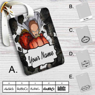 One Punch Man Saitama Sensei Power Custom Leather Luggage Tag