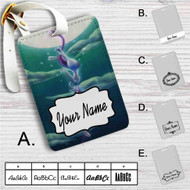 Pokémon Mewtwo Custom Leather Luggage Tag