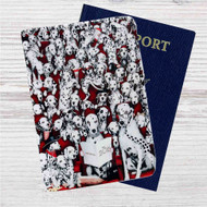 Disney 101 Dalmatians Custom Leather Passport Wallet Case Cover