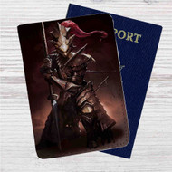 Dragon Slayer Ornstein Custom Leather Passport Wallet Case Cover