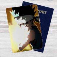 Hunter X Hunter Gon Freecss Custom Leather Passport Wallet Case Cover