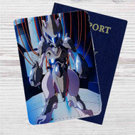 Pokémon Mewtwo 2 Custom Leather Passport Wallet Case Cover