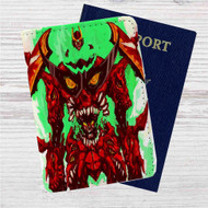 Tengen Toppa Gurren Lagann Custom Leather Passport Wallet Case Cover