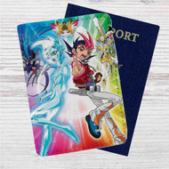 YuGiOh Zexal Custom Leather Passport Wallet Case Cover