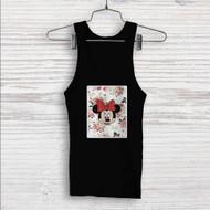 Minnie Mouse Floral Vintage Custom Men Woman Tank Top T Shirt Shirt