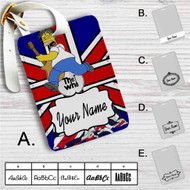 The Who Simpsons Custom Leather Luggage Tag