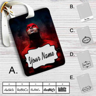 Daredevil The Man Without Fear Custom Leather Luggage Tag