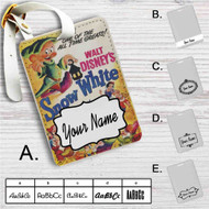 Disney Snow White and The Seven Dwarfs Classic Custom Leather Luggage Tag