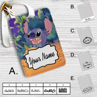 Disney Stitch Custom Leather Luggage Tag