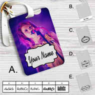 Hayley Williams Custom Leather Luggage Tag