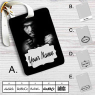 Manny Pacquiao Custom Leather Luggage Tag