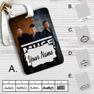 Muse Custom Leather Luggage Tag