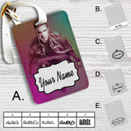 Nicky Romero DJ Custom Leather Luggage Tag