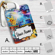 Pokken Tournament Custom Leather Luggage Tag