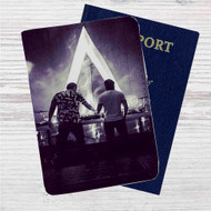 DJ Axwell and Ingrosso Custom Leather Passport Wallet Case Cover
