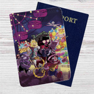 Steven Universe and Friends Custom Leather Passport Wallet Case Cover