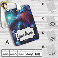 Bard League of Legends Custom Leather Luggage Tag