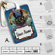 Disney Stitch Toothless Totoro Studio Ghibli Custom Leather Luggage Tag