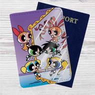The Powerpuff Girls Evil Mirror Custom Leather Passport Wallet Case Cover