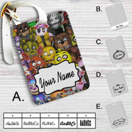 Five Nights at Freddys Custom Leather Luggage Tag