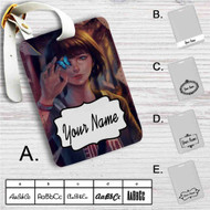 Life is Strange Custom Leather Luggage Tag