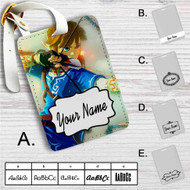 Link The Legend of Zelda Wii Custom Leather Luggage Tag