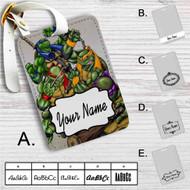 Teenage Mutant Ninja Turtles Custom Leather Luggage Tag