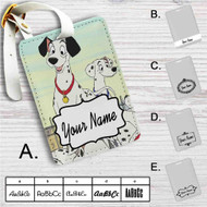 101 Dalmatians Disney Custom Leather Luggage Tag