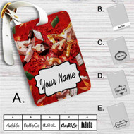 Chihayafuru Custom Leather Luggage Tag