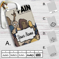 De La Soul Pain Snoop Dogg Custom Leather Luggage Tag