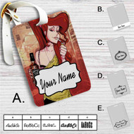 Disney Hercules Megara Smoke Custom Leather Luggage Tag