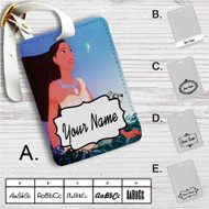 Disney Pocahontas Meeko and FLit Custom Leather Luggage Tag