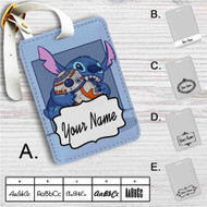 Disney Stitch and Android BB8 Star Wars Custom Leather Luggage Tag